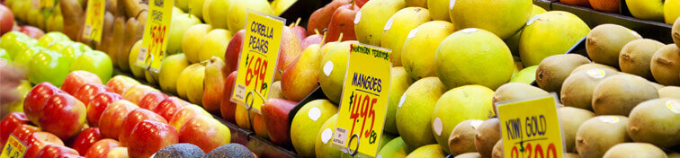 Fruits in a market in Adelaide