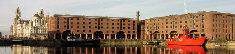 The Albert Dock in Liverpool, UK