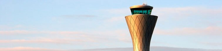 The Air Traffic Control Tower at Edinburgh Airport