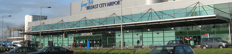 View of Belfast City Airport