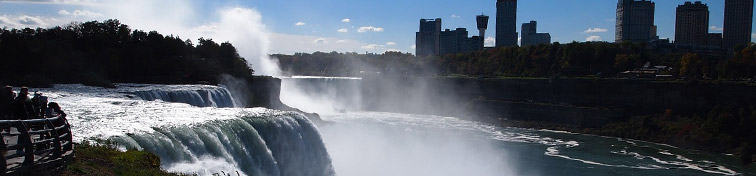 Panorama of Niagara Falls