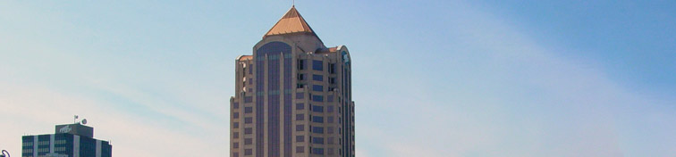 Wells Fargo Tower, the tallest building in Roanoke