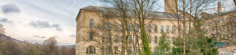 Salts Mill in Saltaire, England