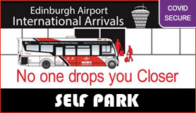 Edinburgh Secure Airparks - Park and Ride