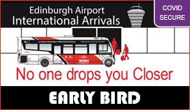 Edinburgh Secure Airparks - Park and Ride - Early Bird