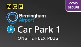 Birmingham Car Park 1 - Onsite - Flexible Booking