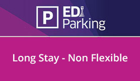 Edinburgh Long Stay Car Park - Online Sale - Non Flexible