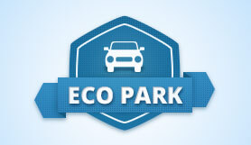 Eco Park - Park and Ride - Uncovered - Brussels Charleroi