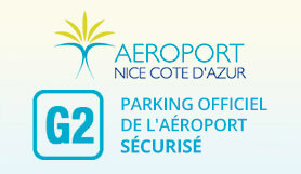 G2 - Airport Official Secured Parking - On Site - Covered - Nice