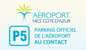 P5 Contact, Official Airport parking - On Site - Nice