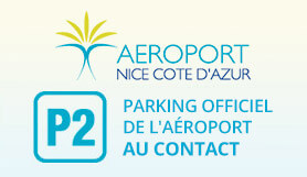P2 Contact, Official Airport parking - On Site - Nice