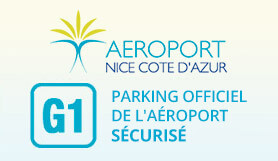 G1 - Airport Official Secured Parking - On Site - Covered - Nice