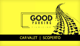 Good Parking - Meet & Greet - Uncovered - Rome