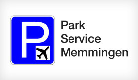 Parkservice-Airport - Park & Ride - Uncovered - Memmingen