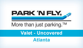 Park 'N Fly Plus - Valet - Uncovered - Dom & Int. Terminals ATL