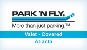 Park 'N Fly Plus - Valet - Covered - Dom & Int. Terminals ATL