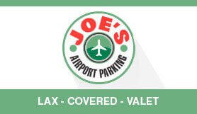 Joe's Airport Parking - Valet - Uncovered Garage - Los Angeles