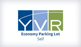 Vancouver Airport: Economy Parking Lot Self