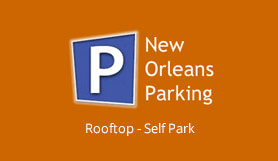 New Orleans Parking: Rooftop (Port of New Orleans Only) - Self