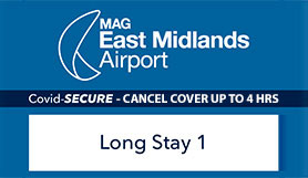 East Midlands Long Stay 1 - 10% Off - Non Flex Supersaver