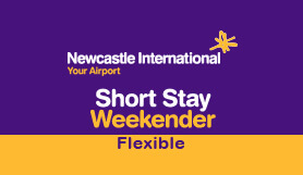 Newcastle Airport Short Stay Weekender Flexi.