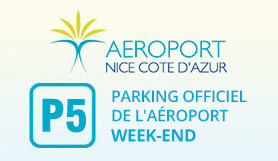 P5 Weekend - Official Airport parking - On Site - Nice