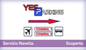 Yes Parking - Park & Ride - Uncovered - Milan Malpensa