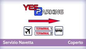 Yes Parking - Park & Ride - Covered - Milan Malpensa