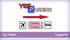 Yes Parking - Meet & Greet - Covered - Milan Malpensa