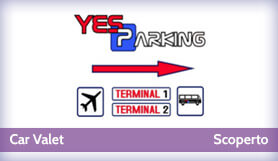 Yes Parking - Car Valet - Scoperto - Milano Malpensa