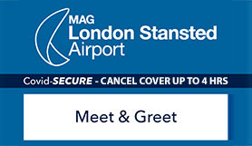 Stansted Official Meet & Greet - 15% Off Special Offer