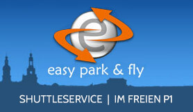 Easy Park & Fly - Park & Ride - Uncovered P1 - Dresden