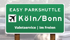 Easy Parkshuttle - Meet & Greet - Uncovered - Köln/Bonn