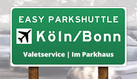 Easy Parkshuttle - Meet & Greet - Covered - Köln/Bonn