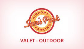 Sams Park - Valet - Outdoor - Los Angeles LAX