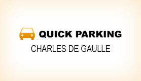 Quick Parking - Park & Ride - Charles de Gaulle
