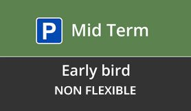 Luton Mid Term Early Bird - Non Flex
