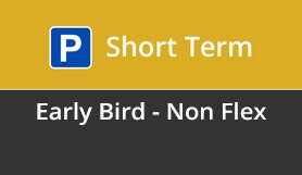 Luton Short Term Early Bird - Non Flex