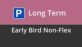 Luton Long Term Early Bird - Non Flex