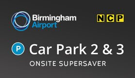 Birmingham Car Park 2 & 3 - Onsite - Supersaver