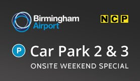 Birmingham Car Park 2 & 3 - Onsite - Weekend Special