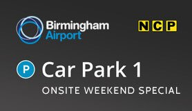 Birmingham Car Park 1 - Onsite - Weekend Special