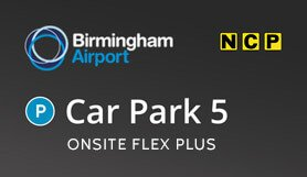 Birmingham Car Park 5 - Onsite - Flex Plus