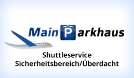 Mainparkhaus Frankfurt - Park & Ride - Security Area/Covered - Frankfurt Main