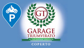 Garage Triumvirato - Park & Ride - Covered - MOTORBIKE - Bologna