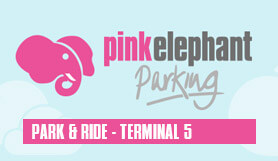Heathrow - Pink Elephant Park & Ride T5