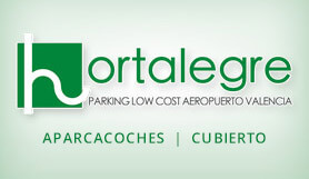 Hortalege Parking - Meet & Greet - Covered -Valencia