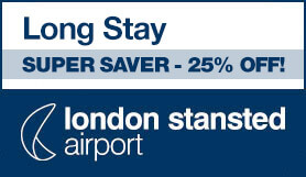 Stansted Official Long Stay - Super Saver - 25% Off