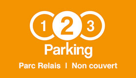 123 Parking - P&R - Outdoor - Brussels Charleroi