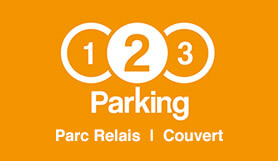 123 Parking - P&R - Covered - Brussels Charleroi